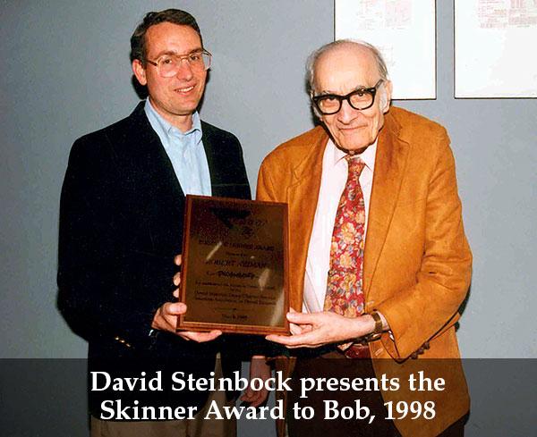 BobNeimanReceivingSkinnerAward1998