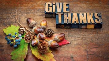 Thanksgiving 2019 Blog