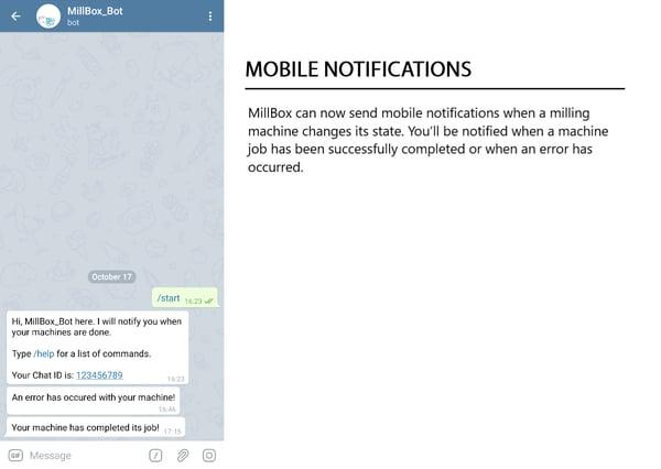 Mobile Notifications Millbox