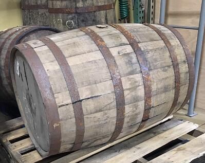 1 full whiskey barrel
