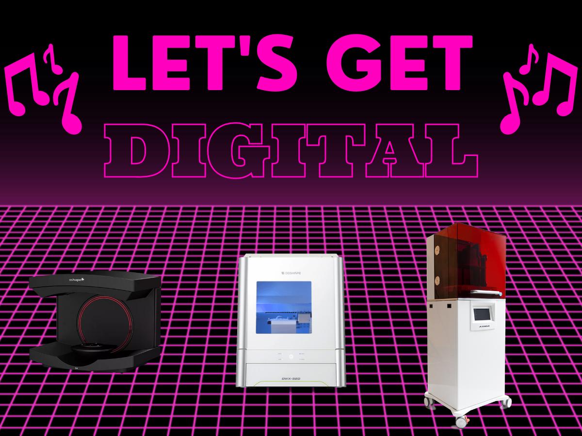Let's Get Digital 🎶🎶