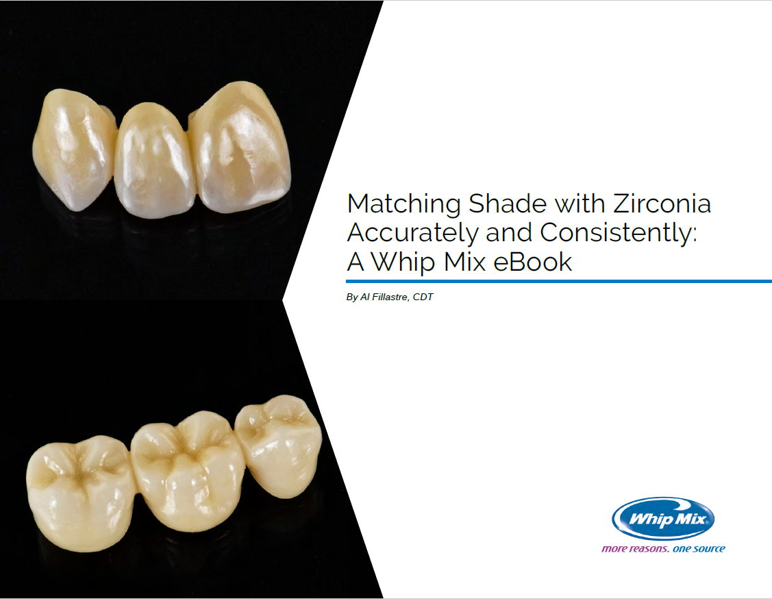 Matching Shade with Zirconia Accurately and Consistently: A Step-by-Step eBook
